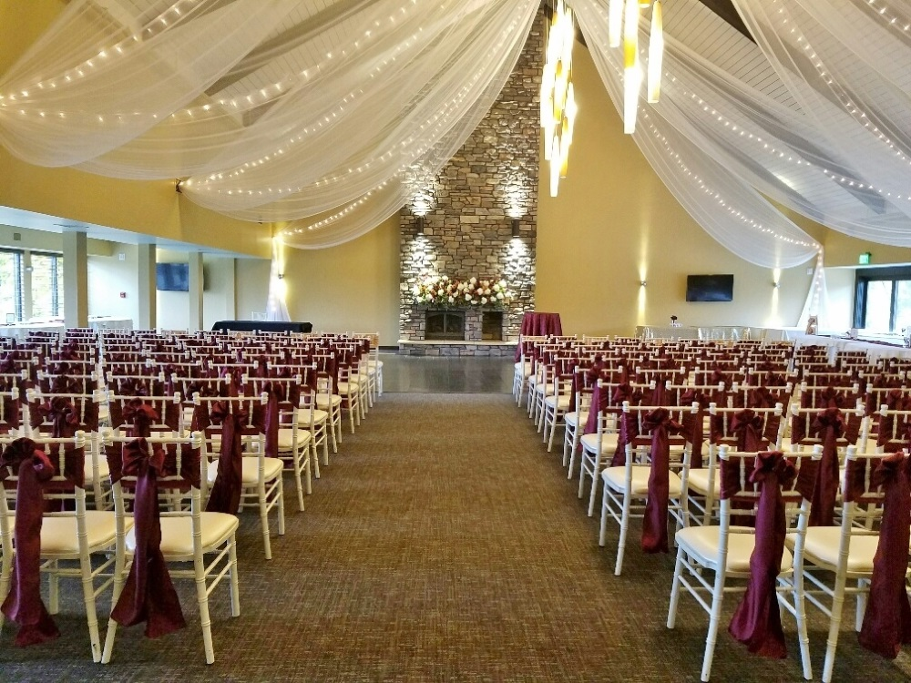Dellwood Country Club indoor ceremony